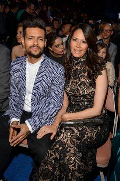 Draco Rosa y Angela Alvarado