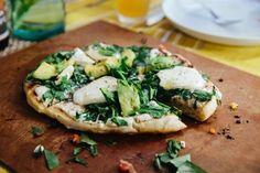 White Pizza with Avocado, Spinach & Mozzarella — Recipes from The Kitchn