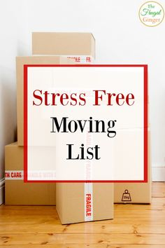 Stress Free Moving L