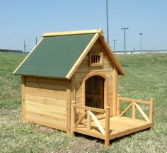 DIY dog house. Dad and Brian might make this for Scooby