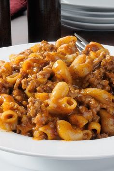 Poverty Meal ~ Whether you are in no money times, or not, this is a SUPER MEAL TO HAVE! :D I served this with crusty rolls and a tossed salad and there wasn't a bit left! Nice on the budget, great comfort food,,