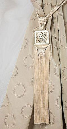 Moroccan tieback tassels