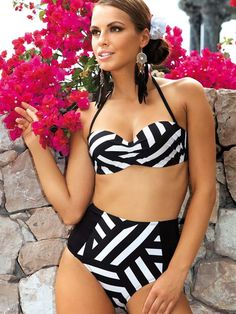 Crazy in Love with High Waist Swimsuits