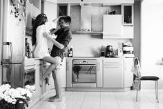 kitchen in love, in home session