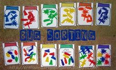 Bug Sorting Activity for Kids