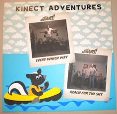 Jean's Crafty Corner: Kinect Adventures Layout