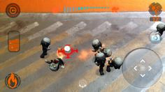 Rolling Dead - uses the Ed Tech programable toy for this AR game to shoot fireballs at zombies
