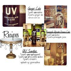 """""""UV Vodka Desserts"""" by roepkepr on Polyvore"""