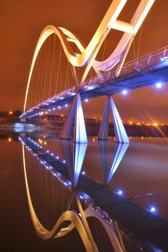 The Infinity Bridge, England