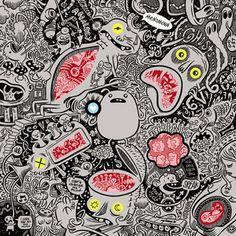 Menomena - Friend and Foe    Cover Artist: Craig Thompson