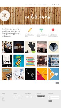 www.giantant.ca #website #design