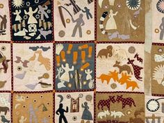 The Invention of Wings - Harriet Powers quilt - American Folk Art @ Cooperstown: Encountering God at the MFA