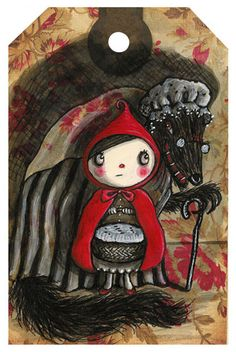 Little Red by susan-mitchell.com