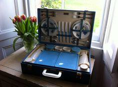 Vintage Brexton picnic set on Etsy, $114.42 AUD