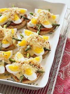a twist on eggs benedict  recipe.com