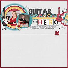 Layout: Guitar Hero