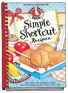 Simple Shortcut Recipes cookbook, now available as an eBook for your Kindle, Nook, Apple, Kobo & Sony devices!