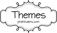 A bunch of ideas for different themes!