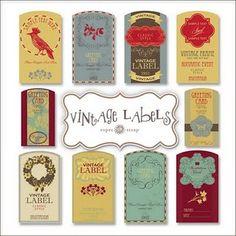 free vintage lables