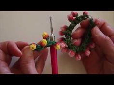 Rainbow Loom Monster Tail Rose Bud Bracelet Tutorial