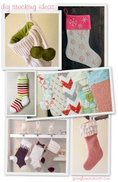 diy stocking ideas | going home to roost
