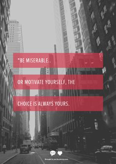 The choice is always Yours.