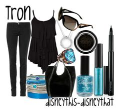 Disney inspired clothing by disneythis-disneythat. Tron.