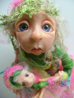 one of a kind dolls By DinkyDarlings