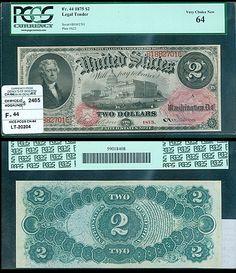 Denlys of Boston has this item on Collectors Corner - $2 1875 LEGAL TENDER