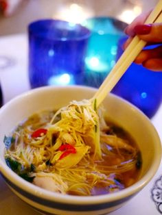 Chicken Noodle Soup - The Londoner