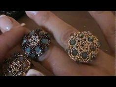 "tutorial anello ""Charlotte"" ( tutorial ring ""charlotte"") - YouTube"