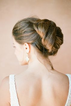 simple but chic updo