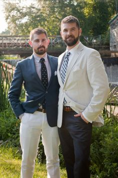 Wedding Gift Ideas For Gay Female Couple : ... outfits on Pinterest Grey Suits, Wedding Outfits and Private Jets