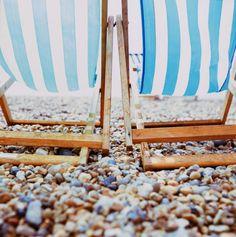 beach chairs, beaches, beach paintings, blue, pebble beach, at the beach, sea, beach photography, beach life