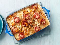 Scalloped Potatoes With Tomatoes and Bell Peppers Recipe : Food Network Kitchen : Food Network - FoodNetwork.com