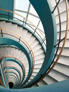 Colour Spiral. @designerwallace
