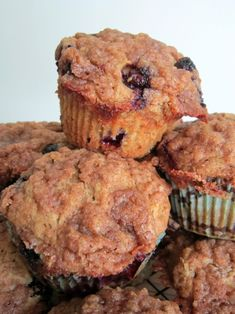 Blueberry Coffee Coffee Cake Muffins