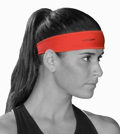 Halo Headband, don't sweat without it! These are my lifesavers. Love the visor and hat too!