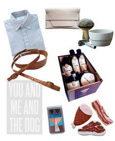 Gift ideas for guys.