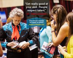 """""""Get really good at your skill. People respect talent."""" - Dr. Temple Grandin"""