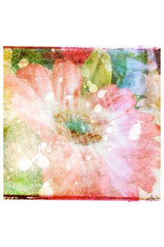 Flower Fairytale Canvas Wall Art