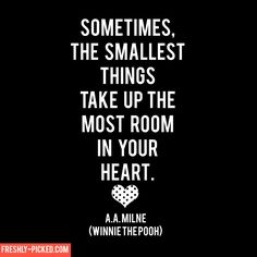 Winnie the Pooh Quote #childhood #parenthood #motherhood #quote