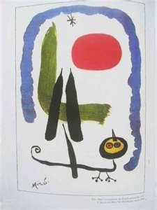Neuinszenierung eines Kunstwerks von Joan Miró