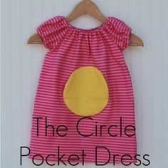 circle pocket dress