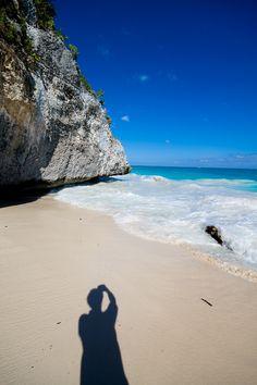 blue, beauti beach, shade