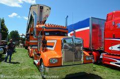 big truck, custom big rig show trucks