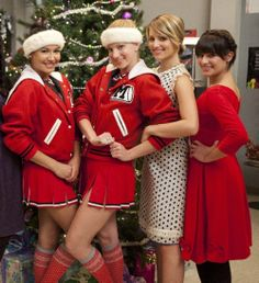 Santana, Brittany, Quinn & Rachel
