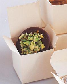 Chocolate Nut Patties Recipe