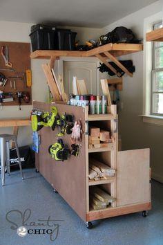 Garage Storage Lumber Cart -- for Joel