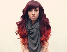 hair colors, dreams, red hair, ombre hair, giraff, blond, hair color ideas, burgundy, dyes